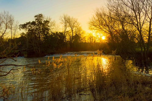 christmas sunrise dorset dslr weir stour