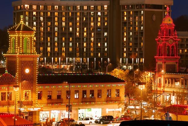Kansas City Plaza Lights in the Evening