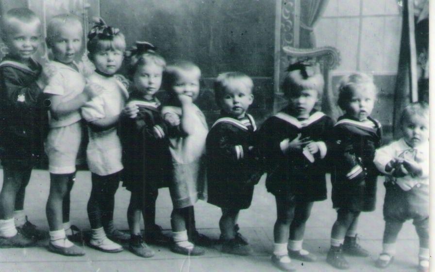 внуки Барановских 1934 г