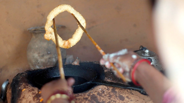 Handmade Sel Roti in Nepal, सेल रोटी - 1