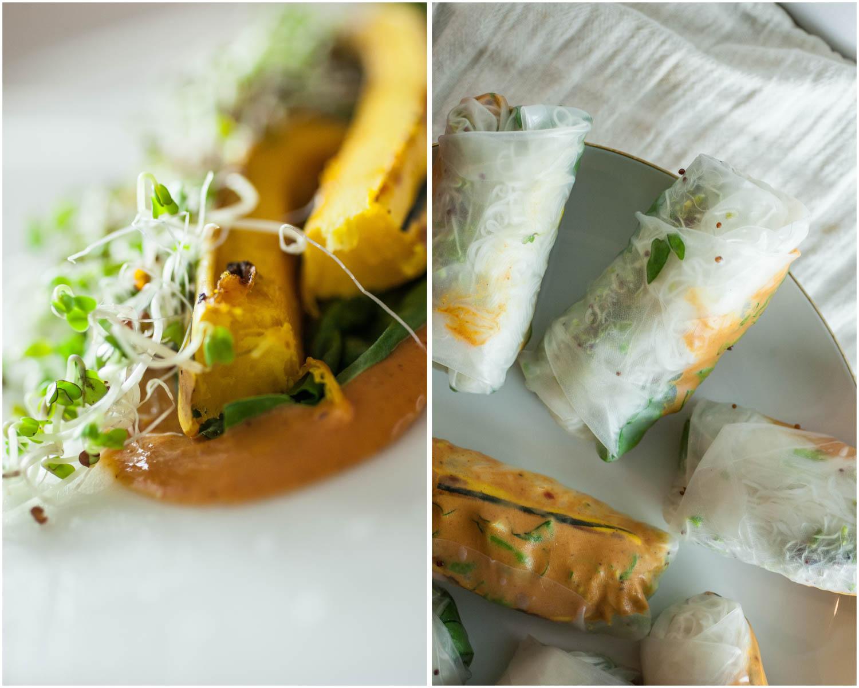 Vegan Delicata Fresh Rolls