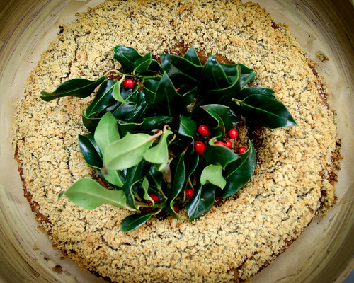Christmas Tofu Wreath