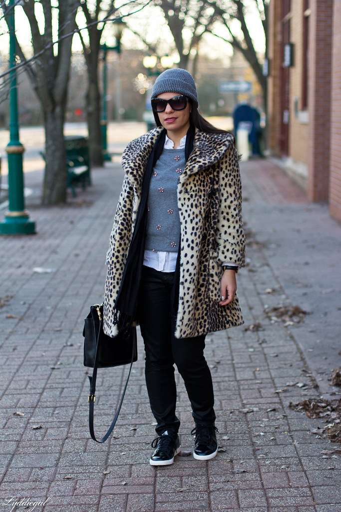 leopard coat, black denim, grey sweater.jpg