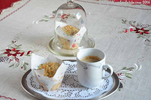 ©Apfel-Streusel-Muffins - Apple Crumble Muffins (1)