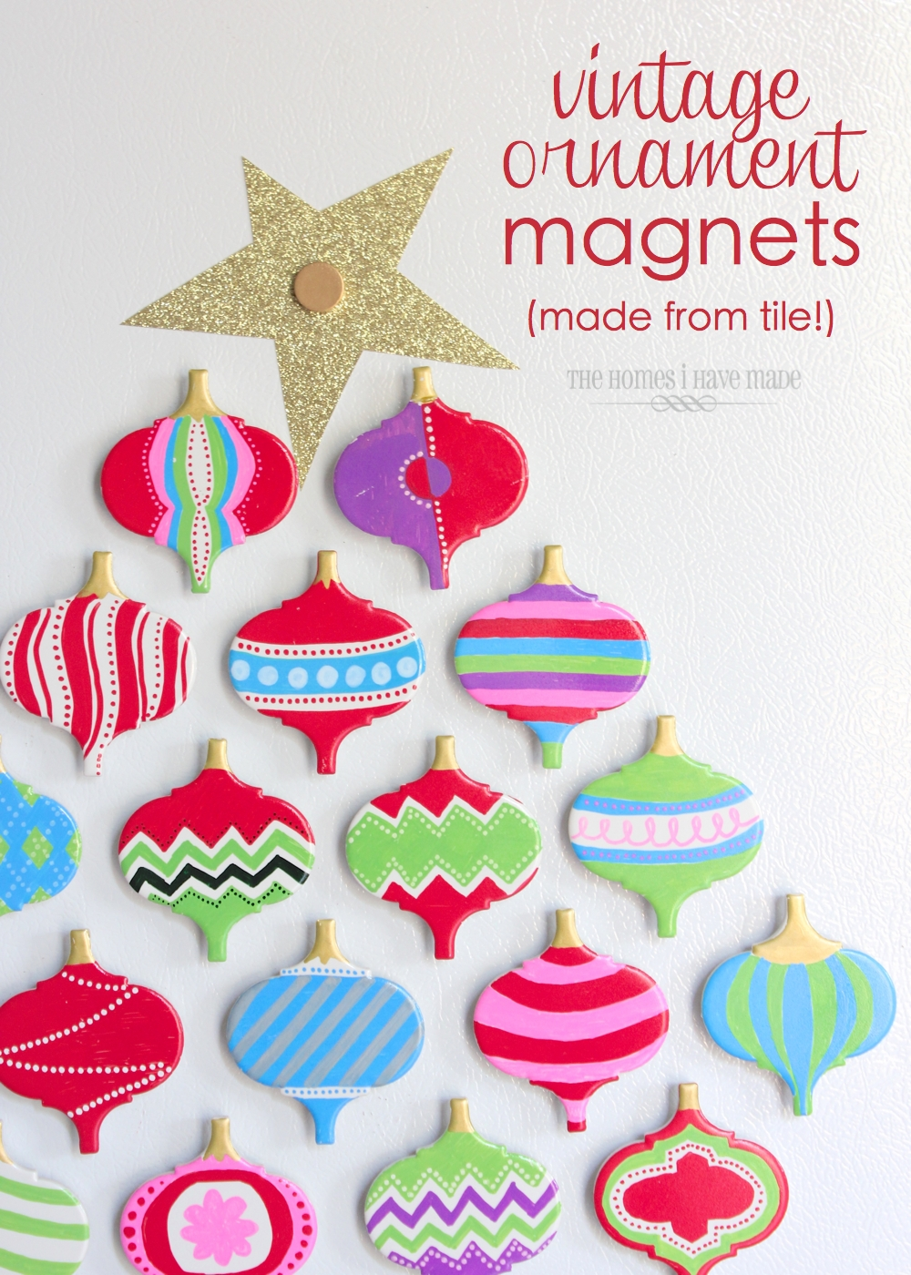Vintage Ornament Magnets-001