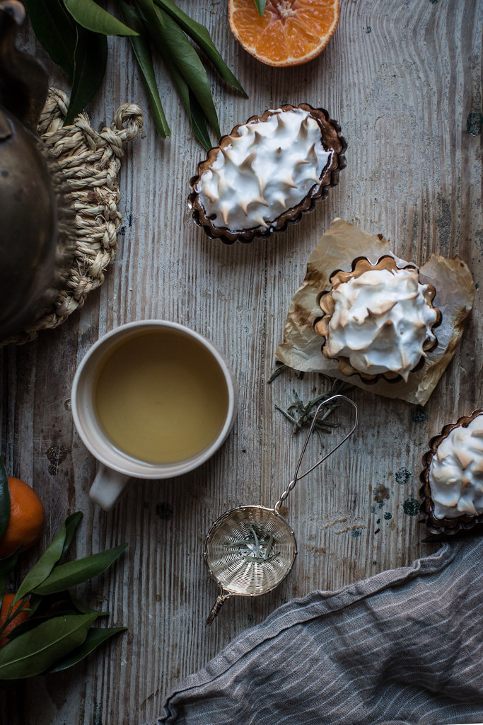 winter citrus meringue tarts