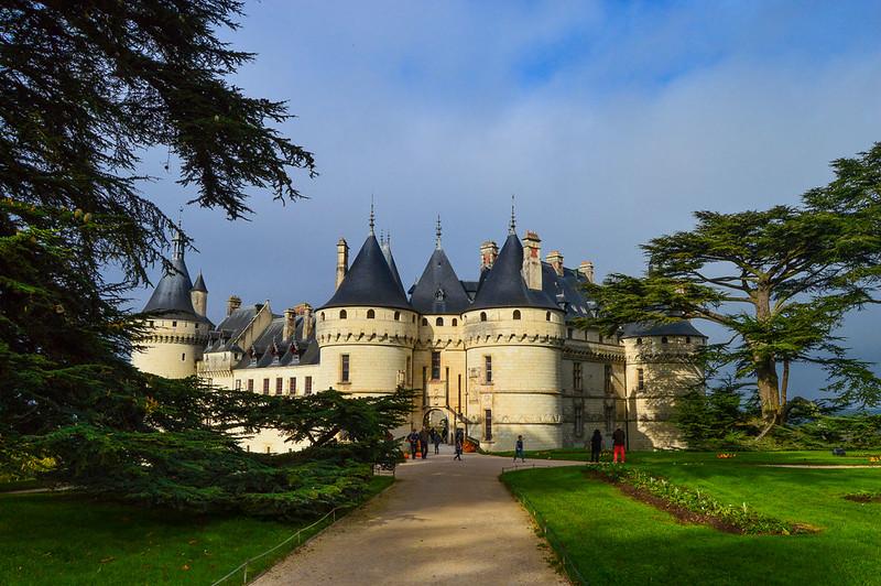 Château de Chaumont Walkway