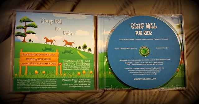 sleep well for kids cd