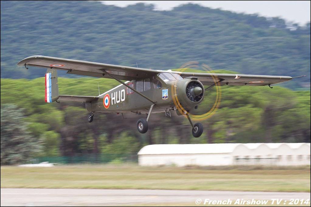 Max Holste MH-1521 C1 Broussard - F-GHUO, Meeting des 60 ans de l'ALAT 2014 ,Cannet des Maures