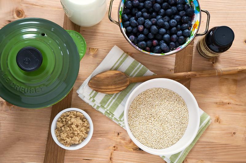 Breakfast Quinoa Ingredients