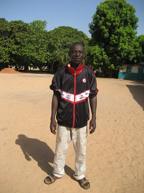 New School Caretaker Mr Bakary Camara