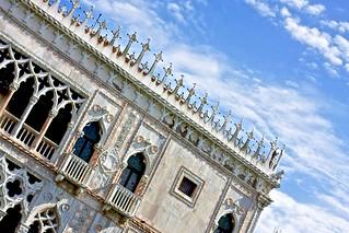 Obrázek Doge's Palace. venice sky italy venezia palazzoducale dogespalace
