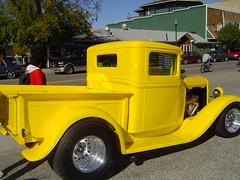 automobile, pickup truck, vehicle, truck, sedan, ford model b, model 18, & model 40, vintage car, land vehicle, motor vehicle,
