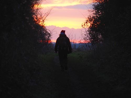 sunset xmaswalk