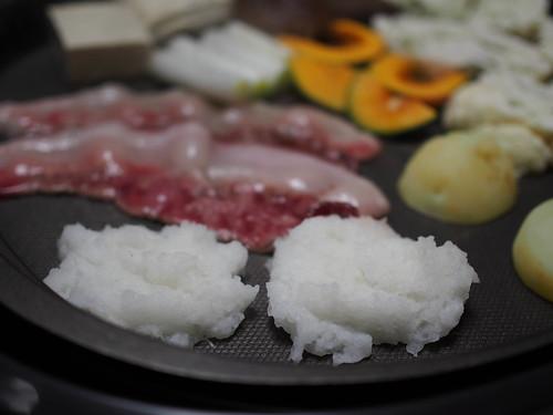イノシシ焼き肉ダイコン餅-3
