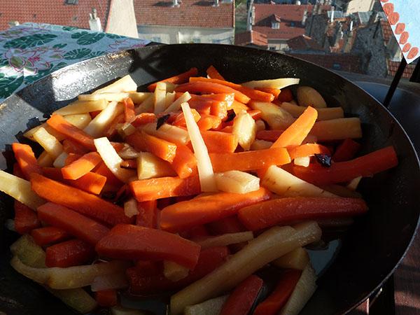 carotees et panais