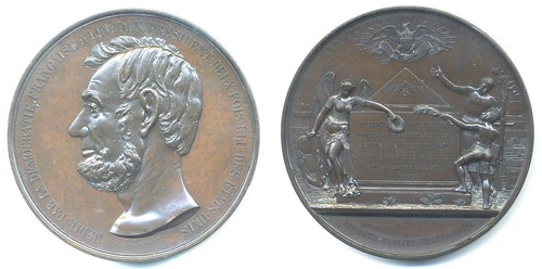 SWISS-FRENCH LINCOLN MEDALLION