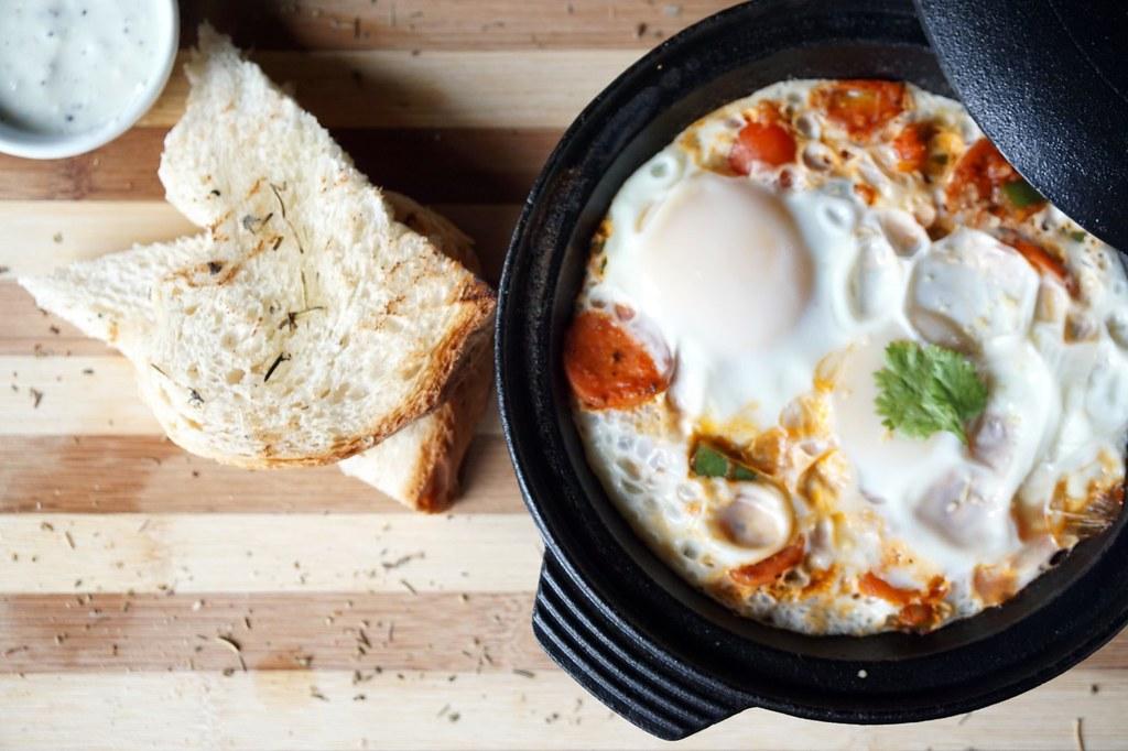 Bedrock Restaurant cafe - taipan - waffles, breakfast, salt chicken-009