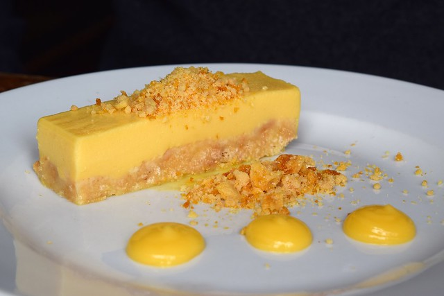 Passionfruit Set Custard at Wyatt and Jones, Broadstairs | www.rachelphipps.com @rachelphipps