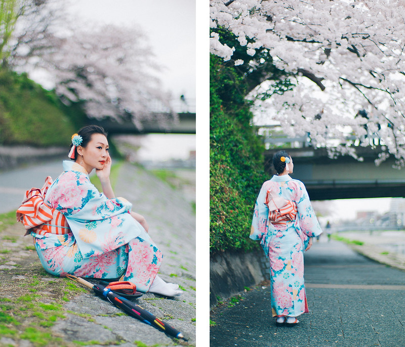 18.Roaming Under The Cherry Blossoms.