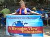 Volunteers in Honduras La Ceiba helped in a Health Brigade out into the community