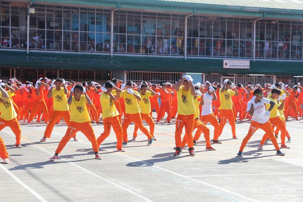 菲律賓宿霧監獄舞-13