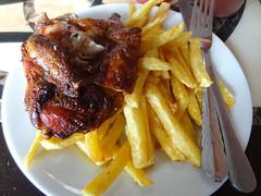 Tandoori Chicken and Chips, Malindi Takeaway, Ston…