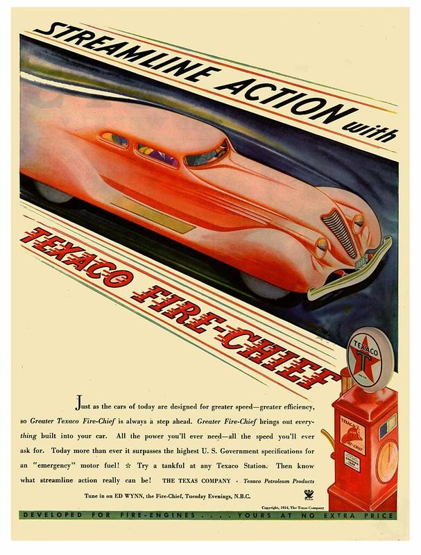 Texaco Fire-Chief - 1934