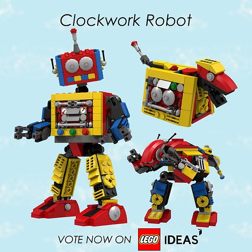 LEGO Creator - Clockwork Robot