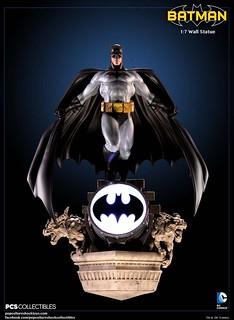 Pop Culture Shock Toys【蝙蝠俠壁掛雕像】Batman 1:7 比例 Wall Statue