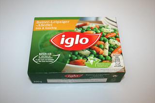 10 - Zutat Leipziger Allerlei / Ingredient vegetables