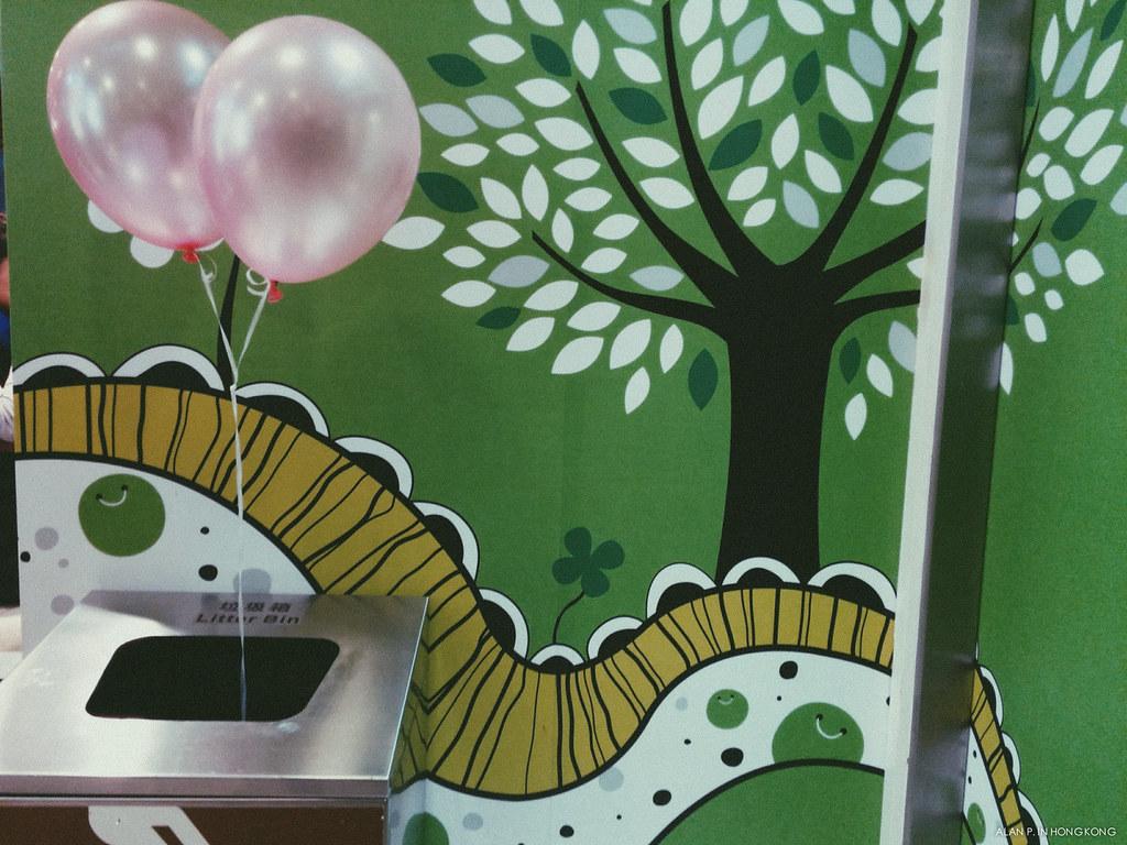 The Litter Bin Ballons
