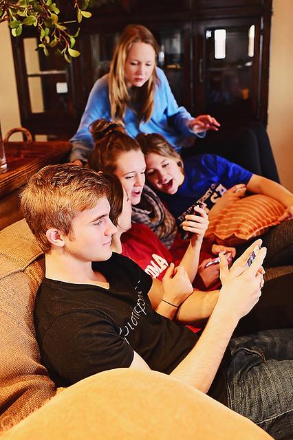 Cinnamon Rolls with Teenagers