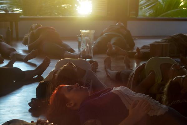 Yoga Teacher Training in Costa Rica Sunrise Meditation