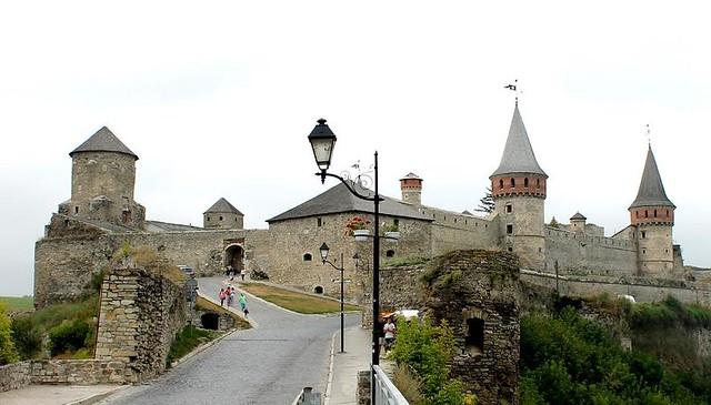 Castillo de Kamianets-Podilskyi