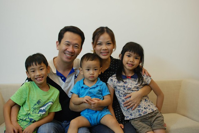 Irene & family - Kitson, Irene, Issac, James, Sophia.