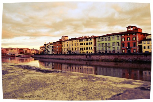 Pisa from life of Ernest Hemingway