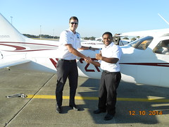 Emmanual Moses FAA Private Pilot License