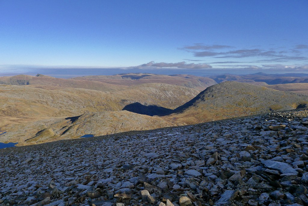 Freevater Forest from Beinn Dearg