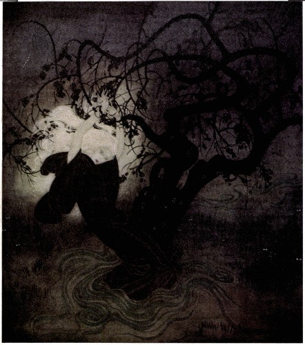 Edmund Dulac - The buried Moon