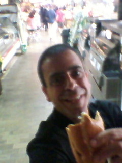 Image of Italian market near Philadelphia. philadelphia reading pennsylvania pa selfie