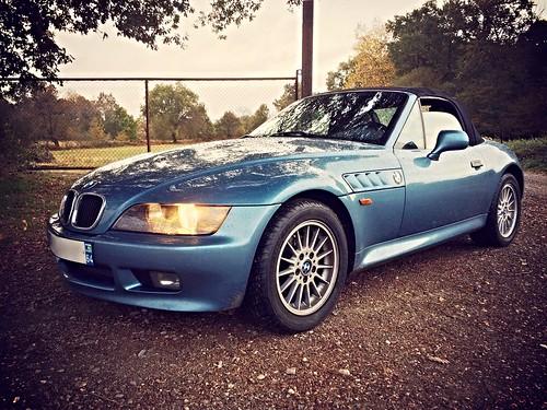 BMW Z3 1.8 Atlantablau