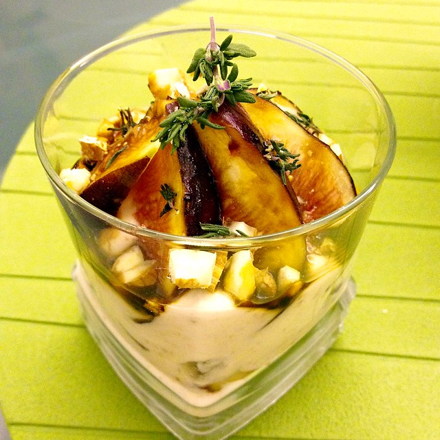 Figs & Greek Yogurt Parfait