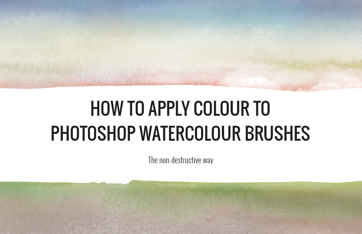 Apply colour in Photoshop - cover