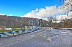 Bridge in Cherrytree Township