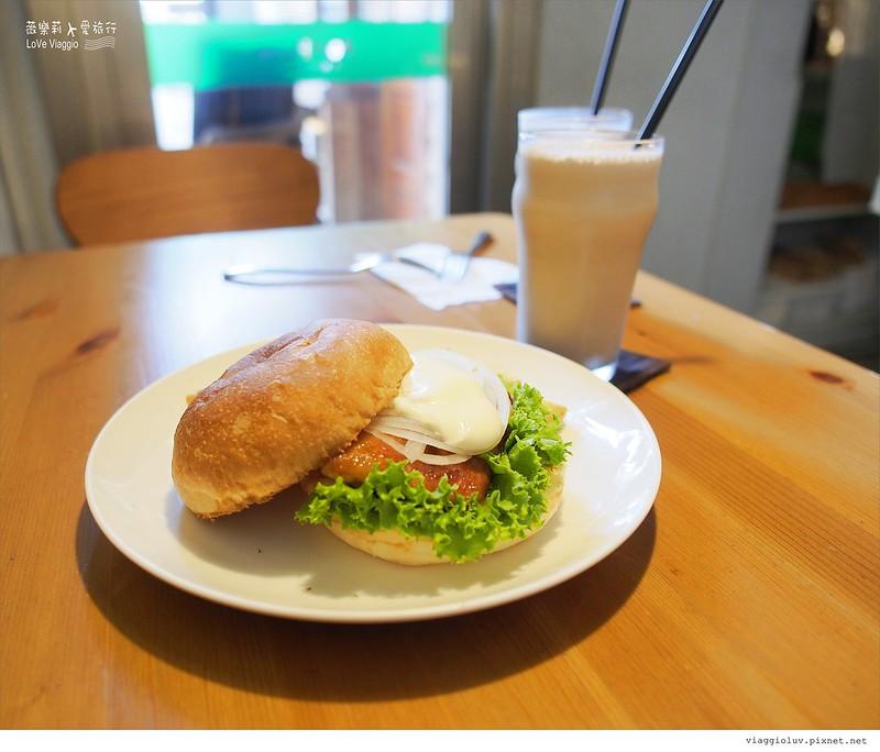【台中 Taichung】田樂一店早午餐 隱藏老宅的不簡單美味漢堡料理 For farm Burger @薇樂莉 Love Viaggio | 旅行.生活.攝影