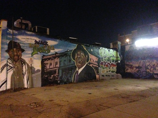 New Marion Barry mural, 14th and Randolph