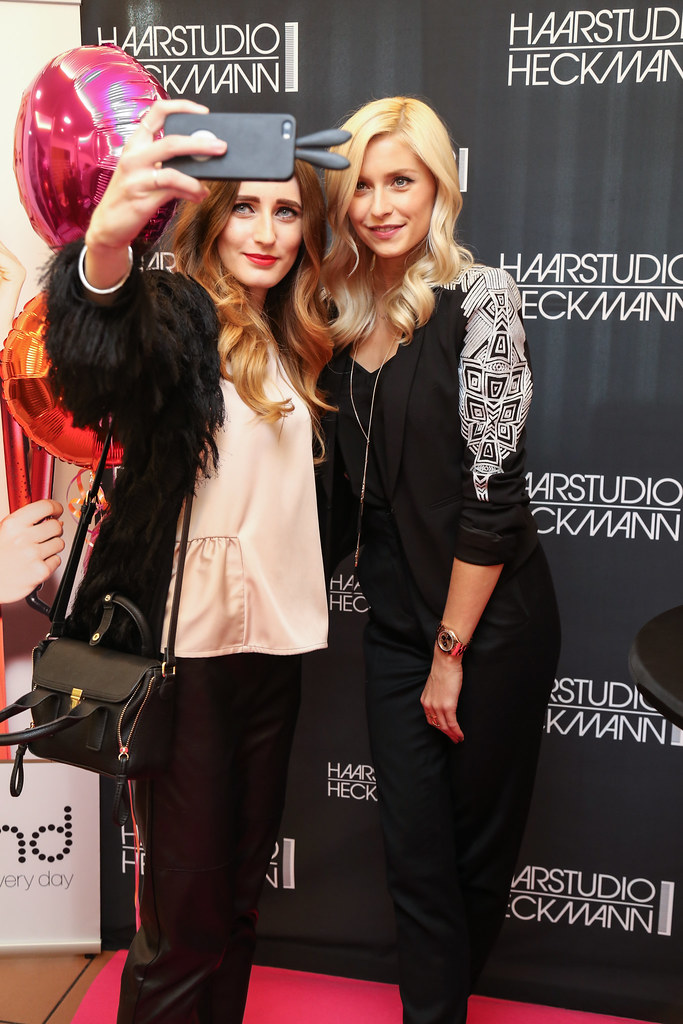 ghd Event with Lena Gercke at Haarstudio Heckmann
