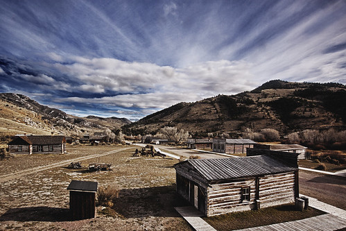 park abandoned rural montana state decay ghosttown bannack