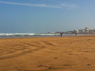 Locaux 23 Beach 2452 Metre uzunluğunda plaj görüntü. beach morocco casablanca aindiab